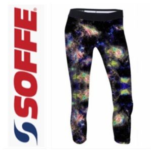SoffeDri Cropped Waiting In The Sky Leggings Small
